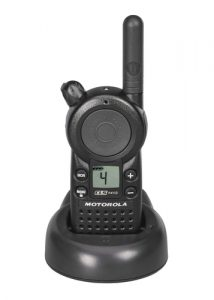 black walkie talkie for indoor use