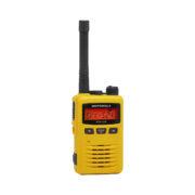 yellow two way radio