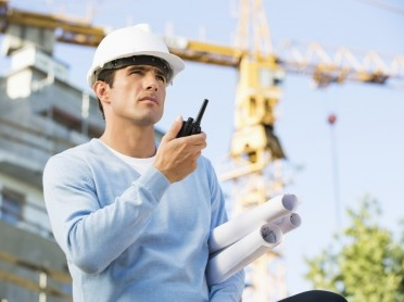 man considers cost of two way radios
